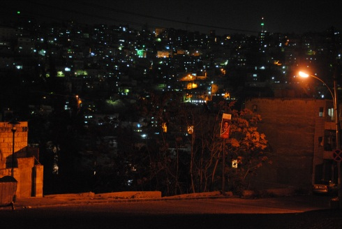Amman, Jordan by night